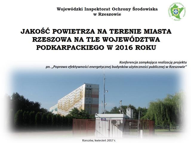 Konferencja-jakość powietrza w Rzeszowie
