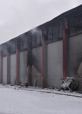 Pożar w Zakładzie Mechaniczno-Biologicznego Przetwarzania Odpadów w Przemyślu – działania służb
